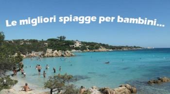 spiagge per bambini in costa smeralda